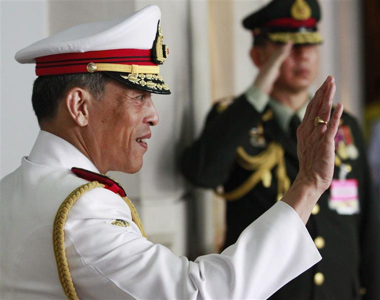 Vajiralongkorn, May 2010