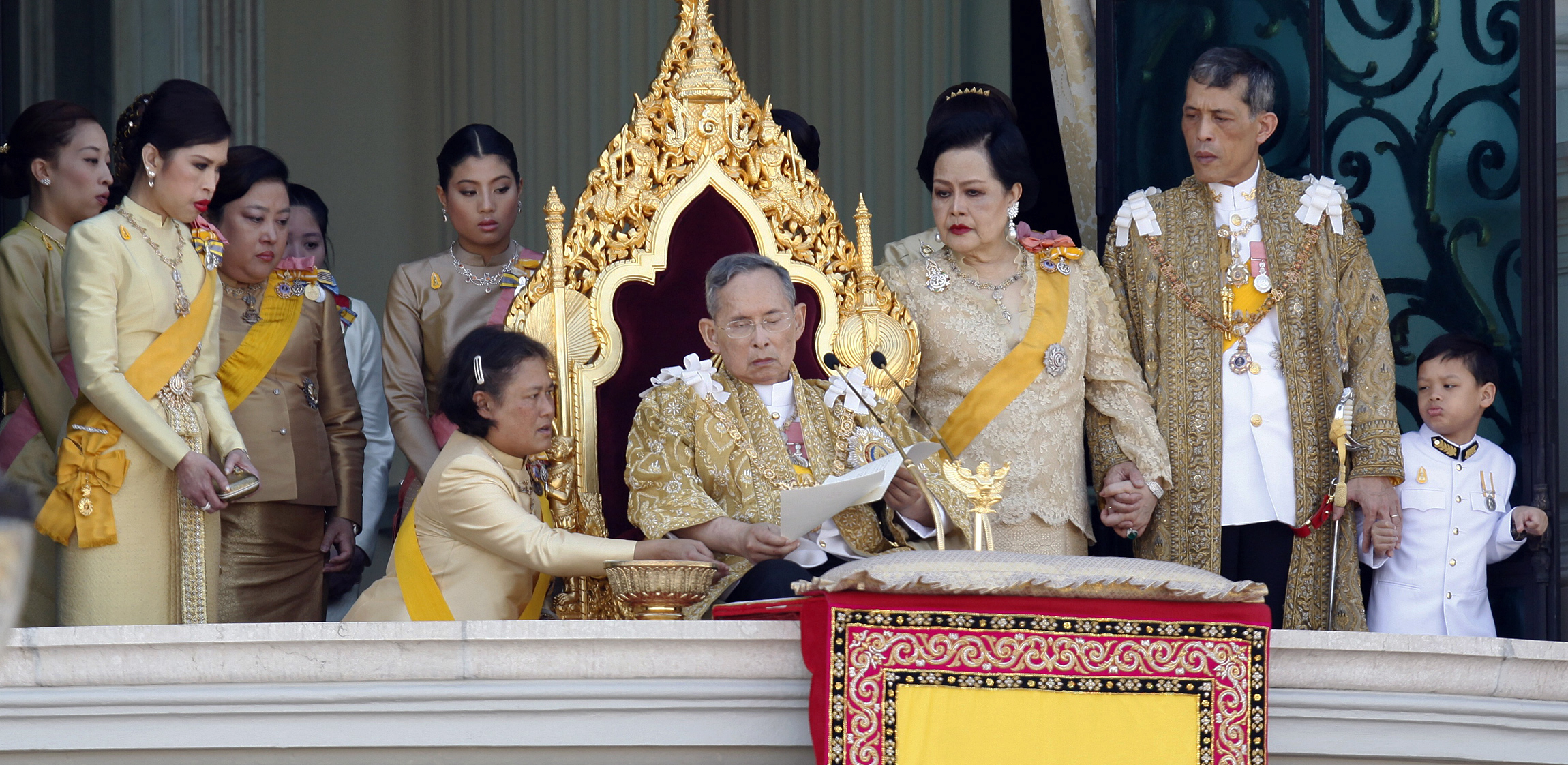 Bhumibol and family