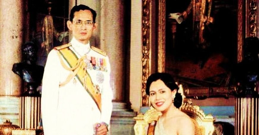 Bhumibol and Sirikit