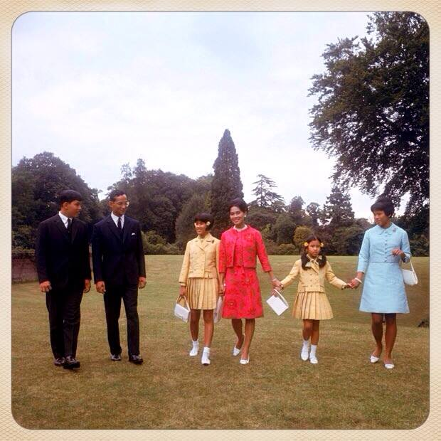 The royals in 1966