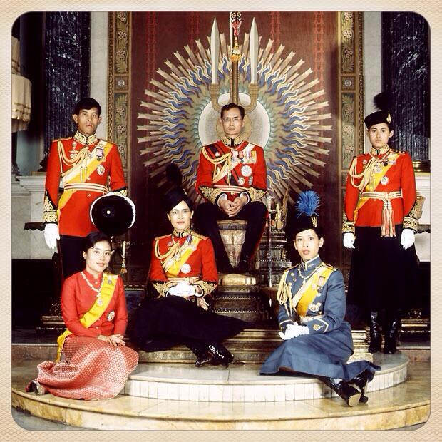 Thai royal family, 1979